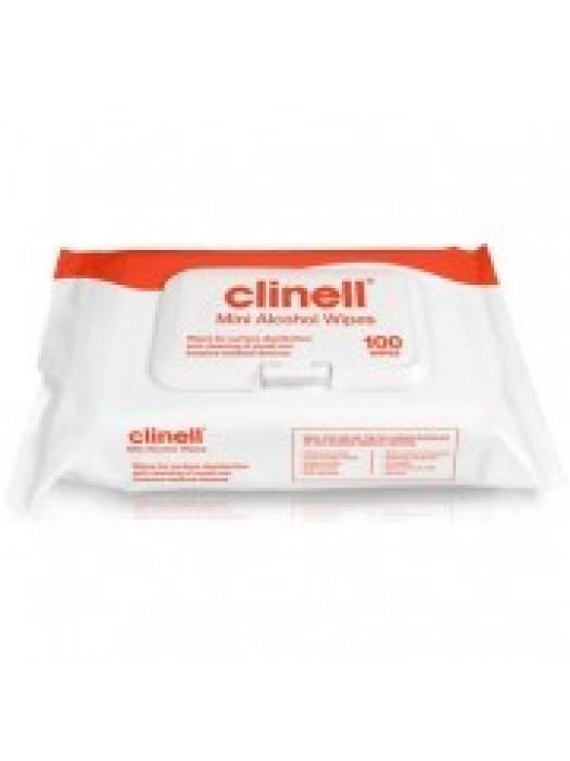 Clinell - Lavete cu alcool