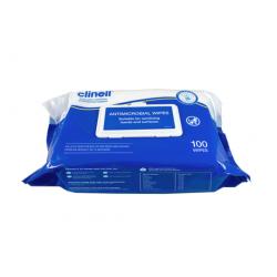 Clinell Antimicrobial lavete dezinfectante profesionale pentru curățarea si dezinfectarea mâinilor, suprafețelor și echipamentelor